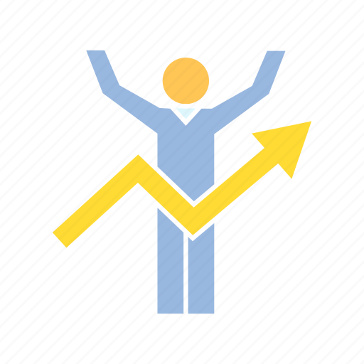 growth, people, profit icon