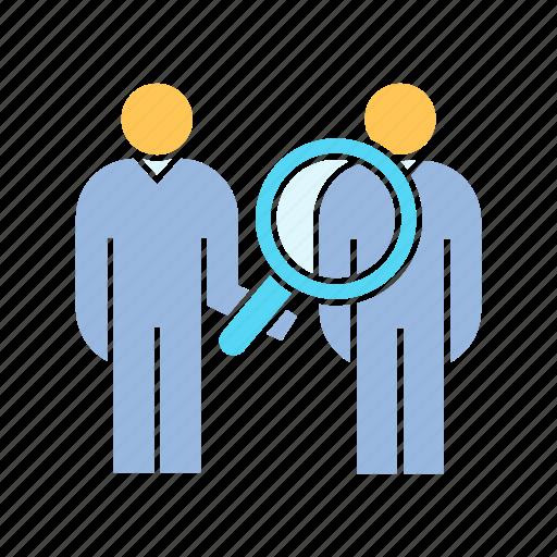 human resource, recruiter icon