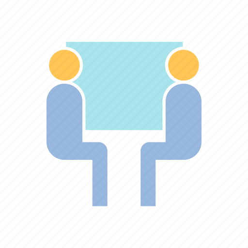 consulting, meeting, office icon