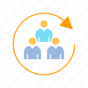 customer, group, people icon