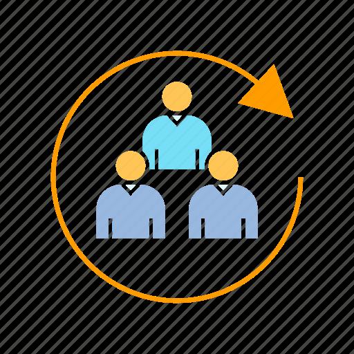 customer, group, people icon