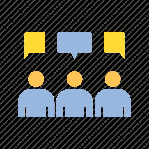 community, discussion, talk icon