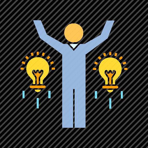 creativity, idea, innovation icon