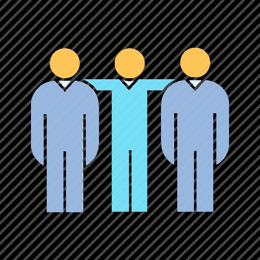 colleague, companion, coworker, teamwork icon
