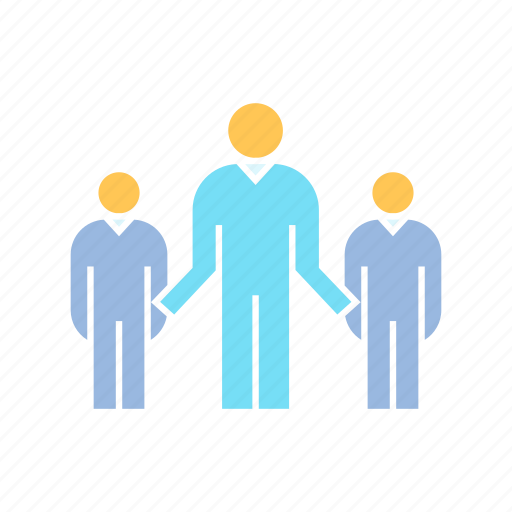 leadership, people, team icon