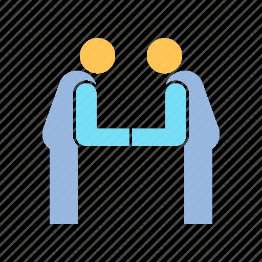 greet, people, respect icon
