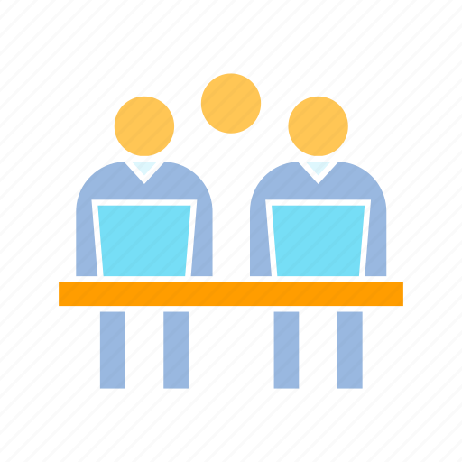 office, organization, worker icon
