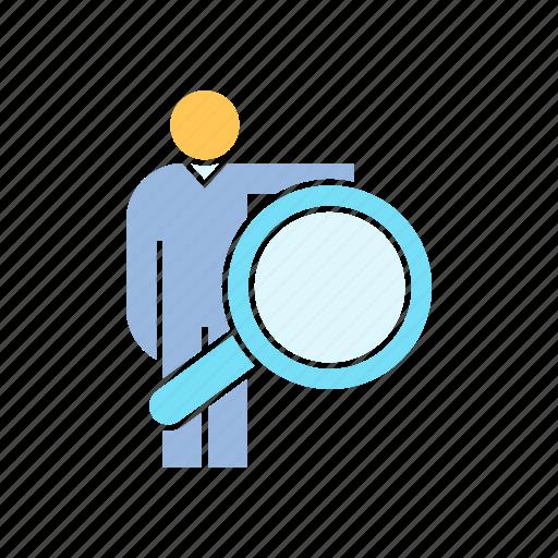 human resource, recruiter, recruitment icon