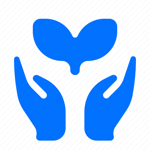 care, growth, plant icon