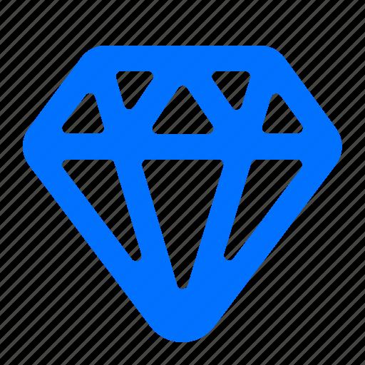 diamond, price, value icon