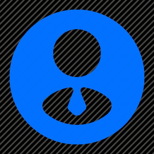 employee, man, person, user icon