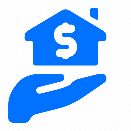 hand, home, house, payment icon
