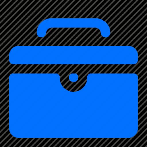 Toolbox, briefcase, suitcase icon