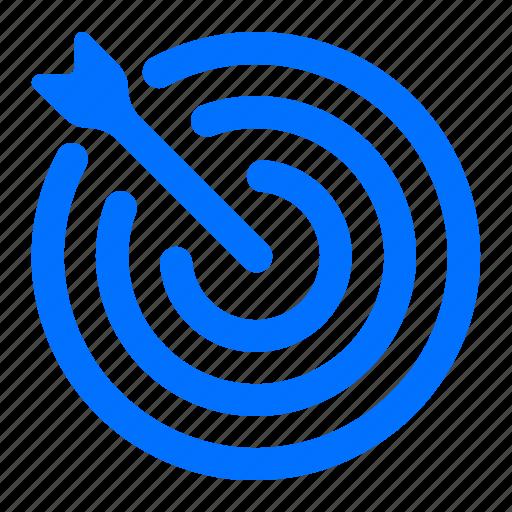 Arrow, bullseye, target icon - Download on Iconfinder
