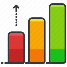 bar, business, chart, economic, graph icon