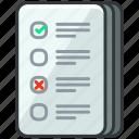 business, checklist, document, economic, list, page