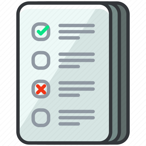 business, checklist, document, economic, list, page icon