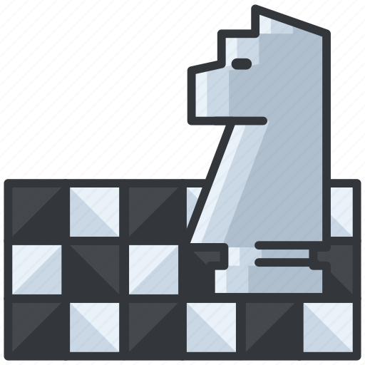 business, chess, economic, game, strategy icon