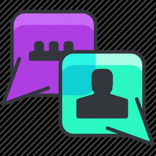 business, chat, conversation, economic, text icon