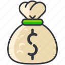 bag, bank, business, economic, finance, money icon