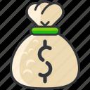 bag, bank, business, economic, finance, money