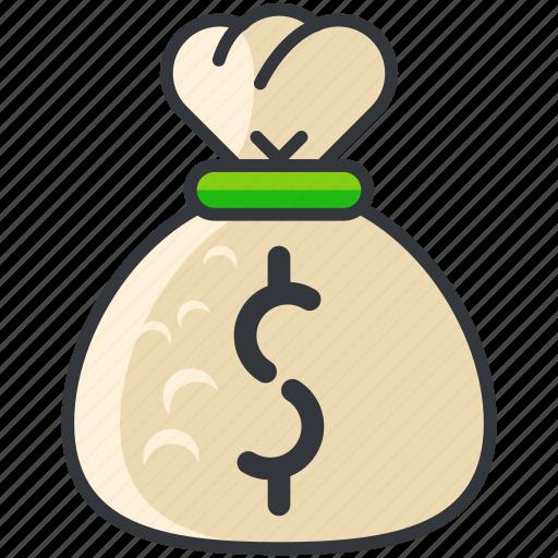 bag, bank, business, economic, finance, money icon