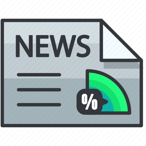 article, business, economic, news, percentage icon