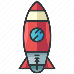 business, economic, rocket, space, spacecraft icon