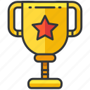 award, business, economic, reward, star, trophy icon