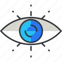 business, economic, eye, view, vision icon