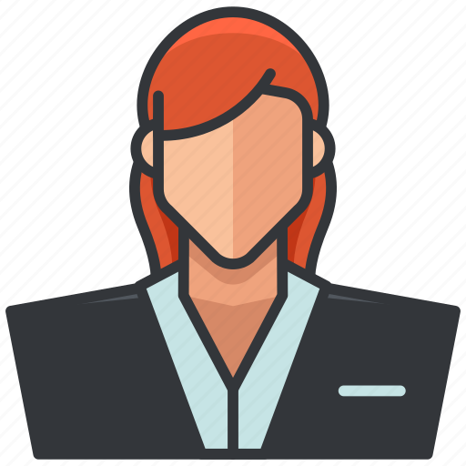 avatar, business, economic, employee, woman icon