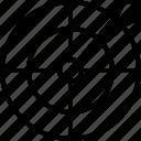 arrow, goal, reach, target icon