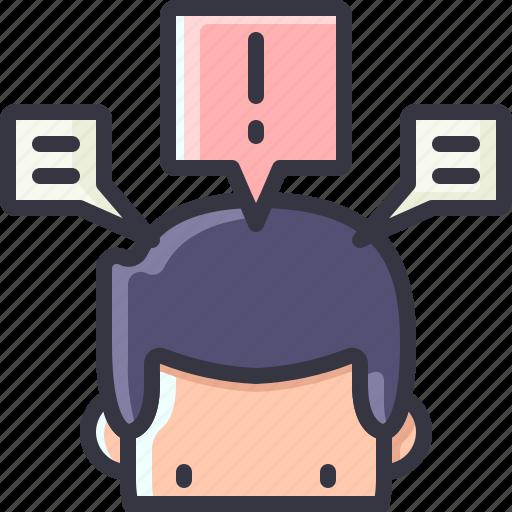 business, idea, info, solution icon