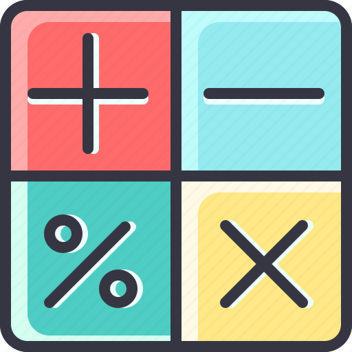 calculator, economy, math, numbers icon