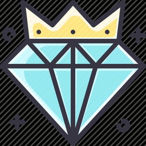 boss, diamond, leader, leadership, wealth icon