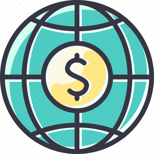 Business, global, money, world icon - Download on Iconfinder
