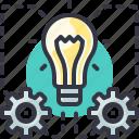 cash, flow, generate, idea, invest, money icon