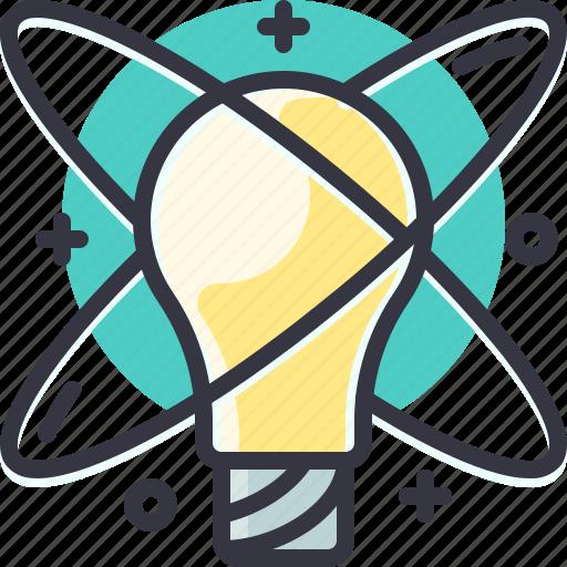 brain, idea, innovation, solution, startup, storm icon