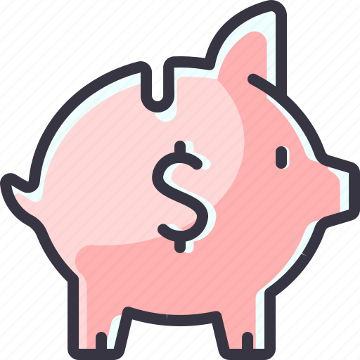 bank, money, piggy, save, saving icon