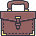 briefcase, business, office, portfolio icon