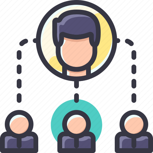 business, company, team, work icon