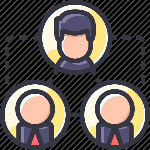 business, team, teamwork, work icon