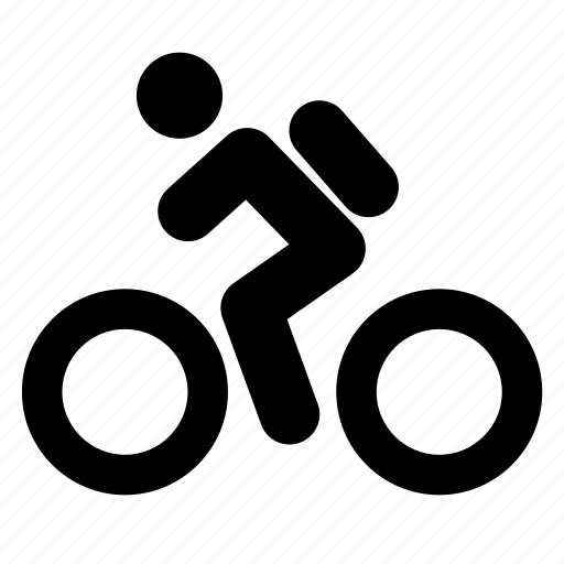 bicycle, bike, cycle, drive, ride, transport icon