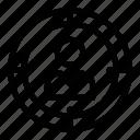 aim, focus, focus person, person target, user target icon
