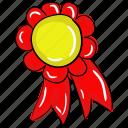achievement badge, award badge, badge, ribbon badge, winner badge icon