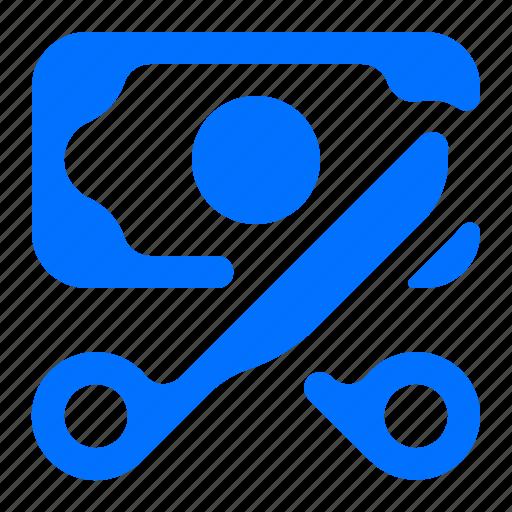 cash, cut, price, sale icon