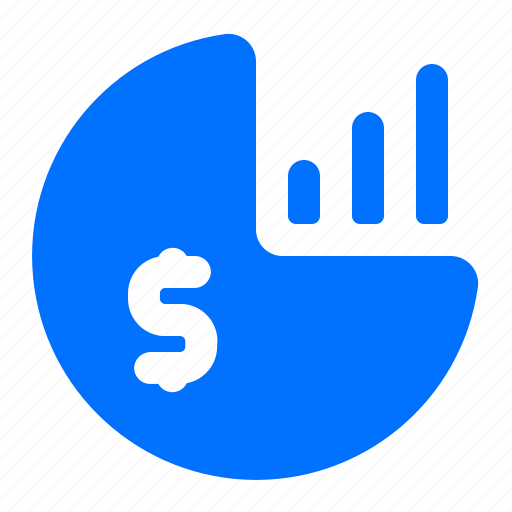 chart, currency, dollar, finance icon