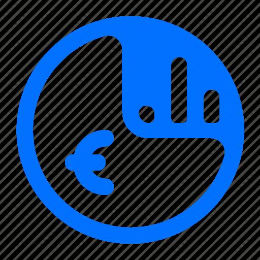bar, chart, euro, finance icon