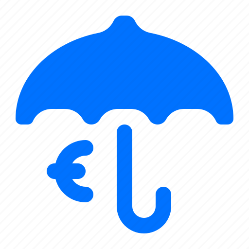 currency, euro, finance, protection icon