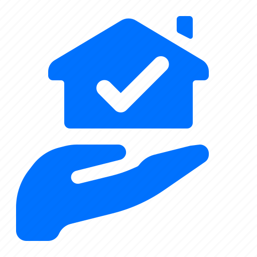 gesture, hand, home, purchase icon